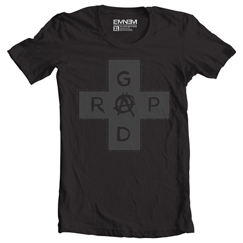 LIMITED EDITION - BLACK ON BLACK RAP GOD T-SHIRT