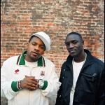 Obie Trice и Akon. Фото: Estevan Oriol