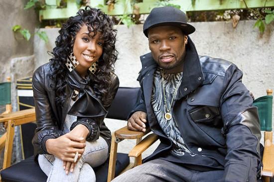 50 Cent и Kelly Rowland. Фото: Meeno Baby