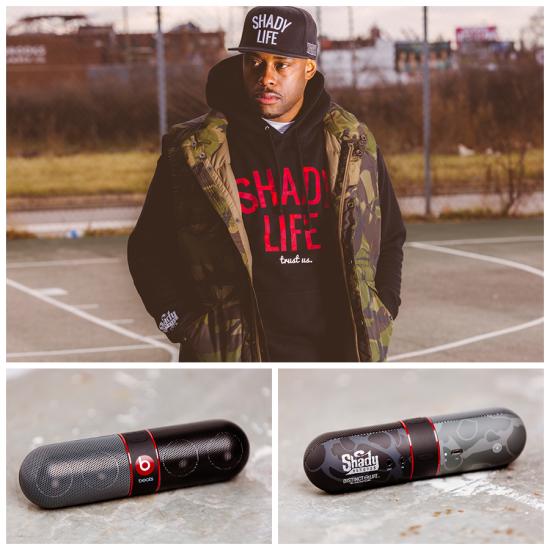 Shady Life — беспроводной динами и коллекция одежды от Shady Records и Beats By Dre