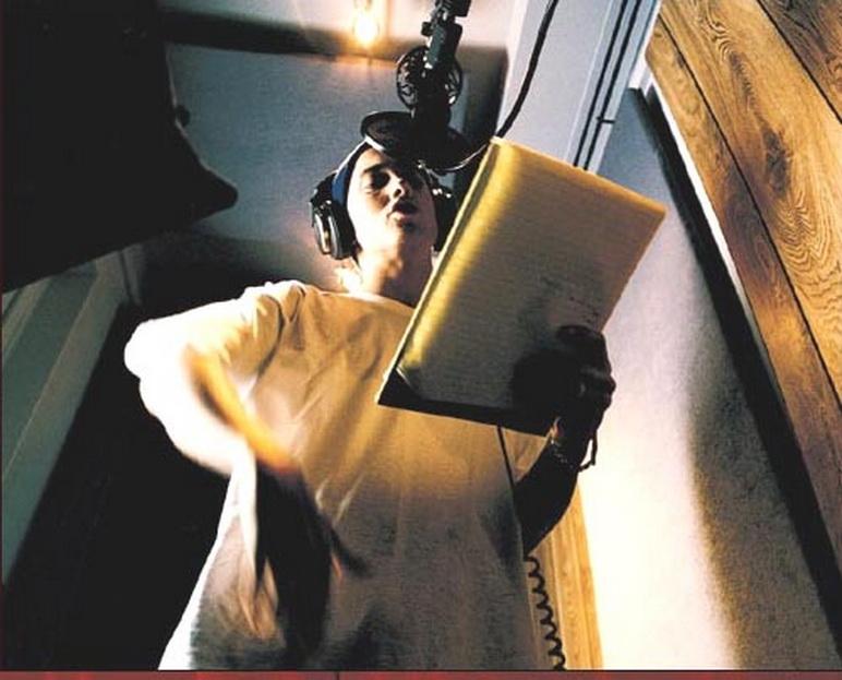 Eminem микрофон