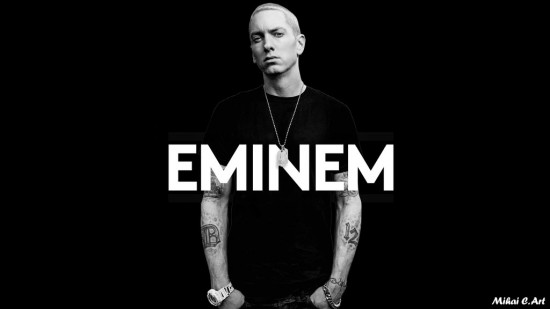 Eminem Billboard Black