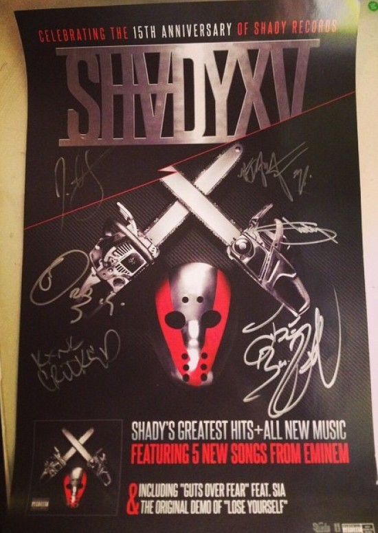 SHADYXV Signed Poster