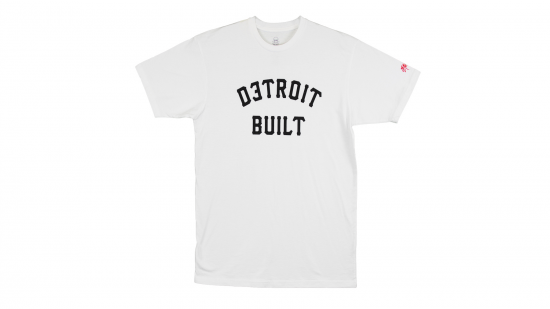 SSUR x Shady Records - Detroit Built T-Shirt (White)