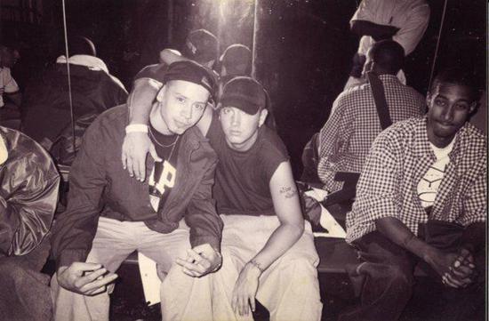 Pace Won eLone и Eminem в  Нью-Йоркском клубе Tunnel