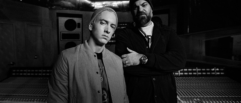 2015.03.06 - Eminem and Paul Rosenberg 2015