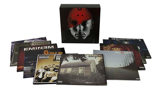 2015.03.11 - Eminem The Vinyl LPs