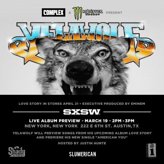 2015.03.17 - YELAWOLF ANNOUNCES LOVE STORY TOUR