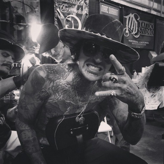 Yelawolf tattoo 2015