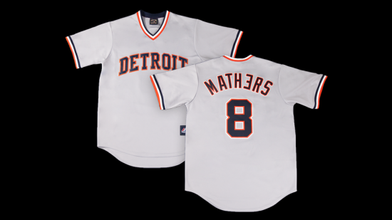 2015.04.07 - Eminem x Detroit Tigers Cooperstown Collection Jersey