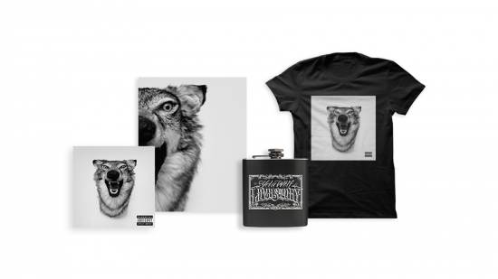 Love Story Pre-Order Bundle - CD + Autographed Lyric Book + Flask + T-Shirt