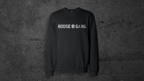 Slaughterhouse House Gang Seal Crewneck Sweatshirt