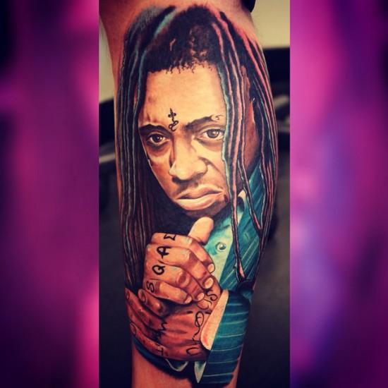 Lil Wayne tattoo