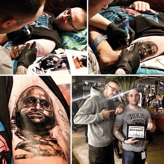 Rick Ross tattoo