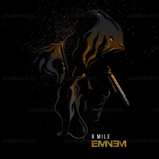 Design contest 8 Mile Cover for Eminem Album by Dan Amorsolo