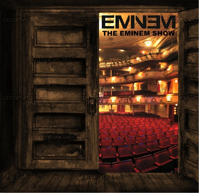 Design contest Eminem Show Cover for Eminem Album by GJ96