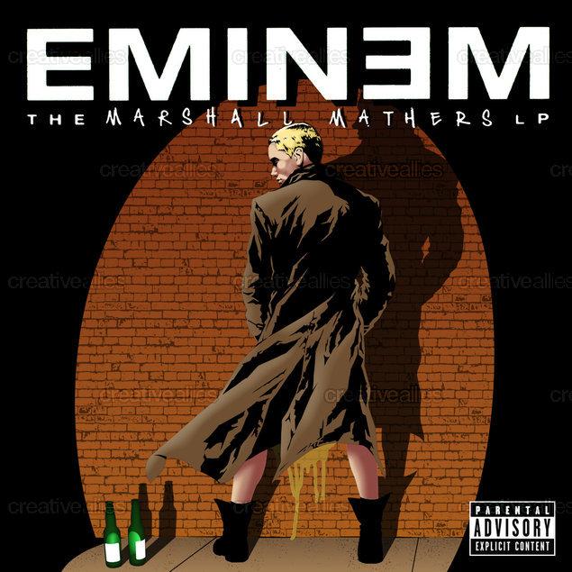 Design contest MMLP Cover for Eminem Album by Pat Hodgens
