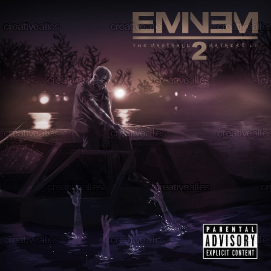 Design contest MMLP2 Cover for Eminem Album by Cxmic