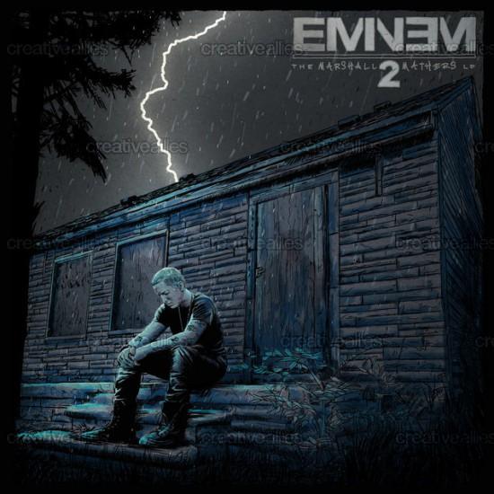 Design contest MMLP2 Cover for Eminem Album by Dan Nash