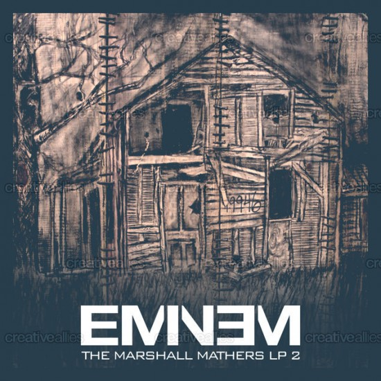 Design contest MMLP2 Cover for Eminem Album by amo