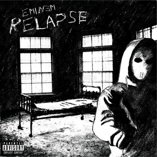 Design contest Relapse Cover for Eminem Album by Co0kii