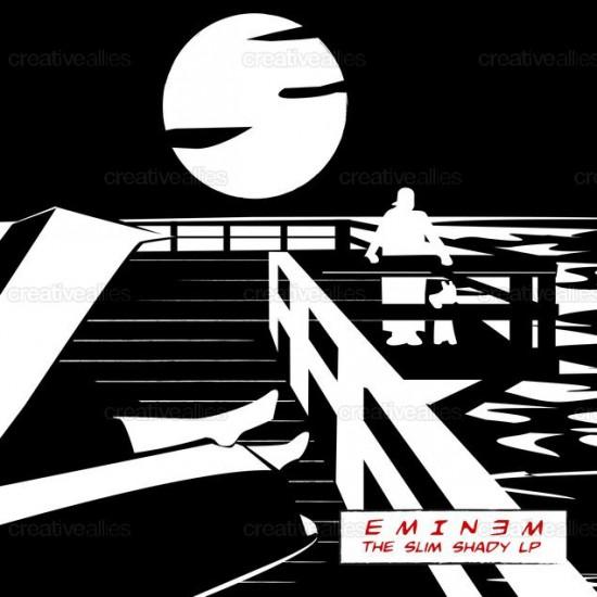 Design contest SSLP Cover for Eminem Album by Bradshaw_shanx