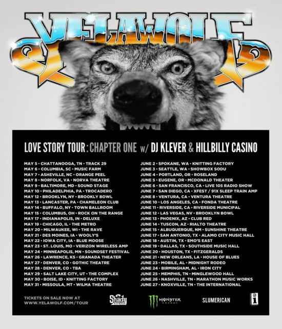 Yelawolf Love Story Tour