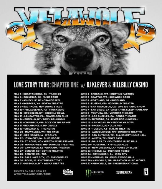 Yelawolf Love Story Tour