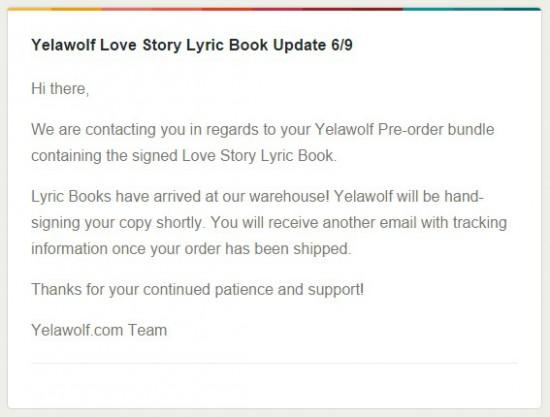 Love Story Pre-Order Bundle - CD + Autographed Lyric Book + Flask + T-Shirt