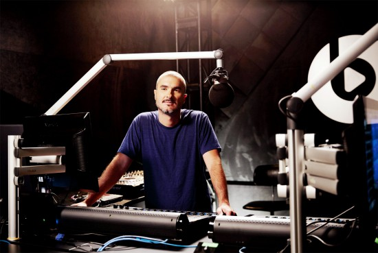 2015.06.26 - Zane Lowe in his studio. Credit Jake Michaels for The New York Times