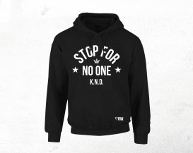 06 KINGS NEVER DIE HOODIE (WHITE ON BLACK) SouthpawMerch_Hoodie_12a_Shady