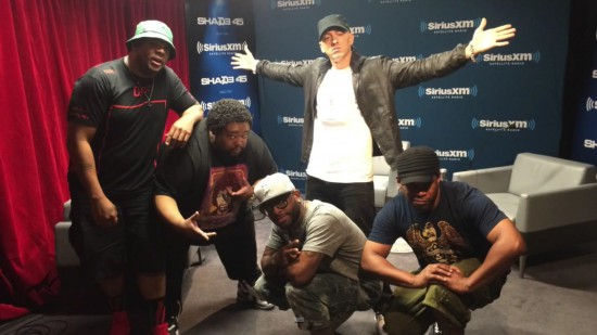Exclusive Eminem Freestyle on Sway In The Morning