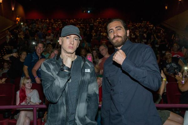 2015.07.20 - Jake Gyllenhaal and Eminem
