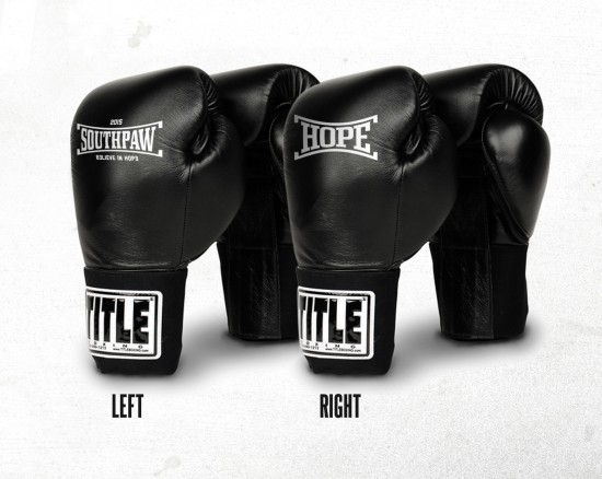 SOUTHPAW X TITLE OFFICIAL BOXING GLOVES