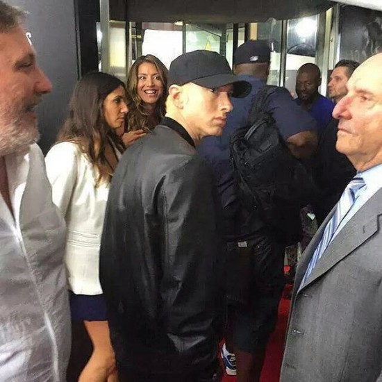 Eminem 2 Southpaw in New York July 21, 2015