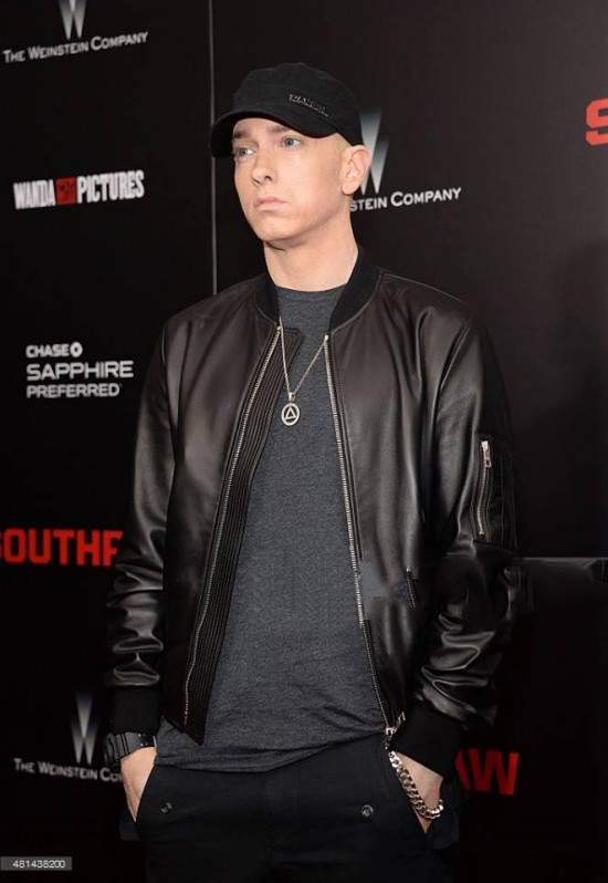 Eminem 4 Southpaw in New York July 21, 2015