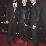 Eminem, Jake Gyllenhaal & Miguel Gomez Southpaw in New York July 21, 2015