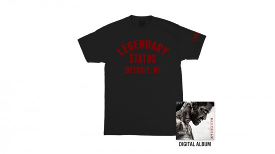 Eminem Shady Records Southpaw T-Shirt + Digital Album