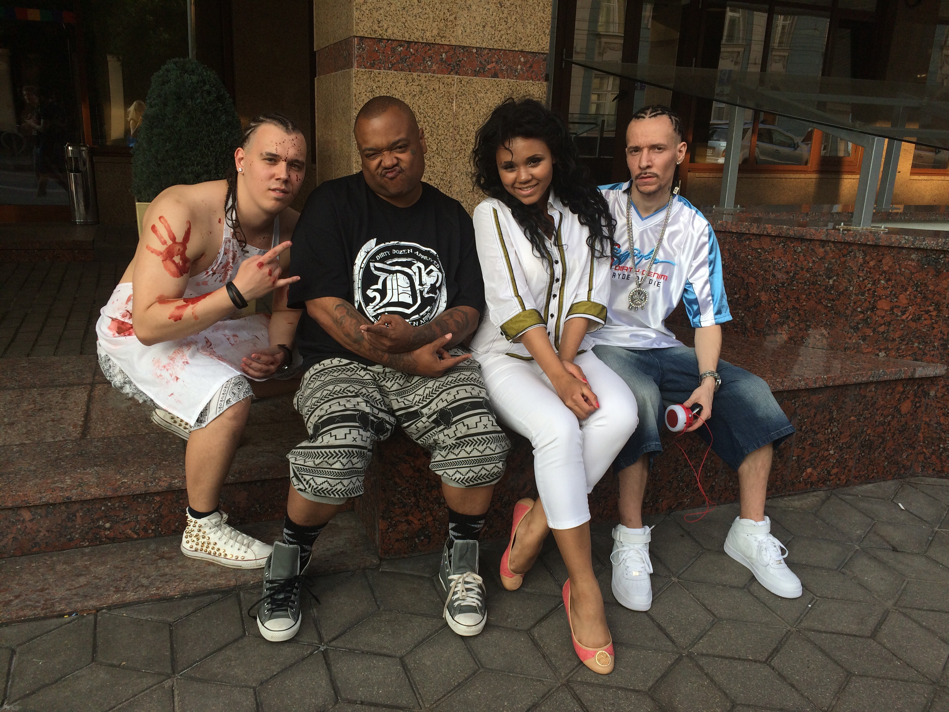 2015.07.09 - Bizarre and Struggle da Preacher