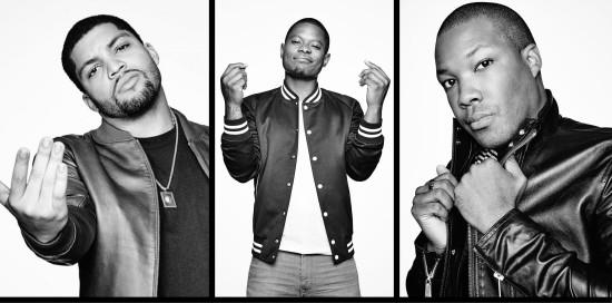 Актёры Straight outta Compton