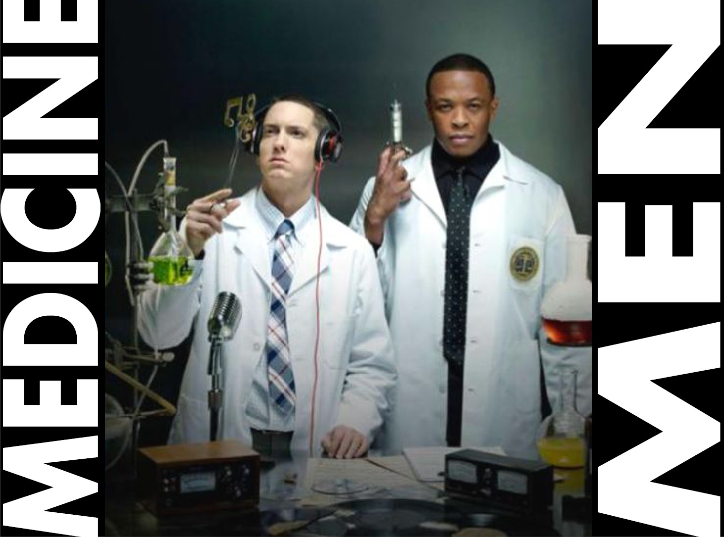 Eminem and Dr. Dre Medicine Man