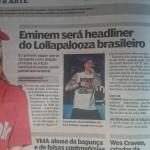 В начале недели сразу несколько средств массовой инфомрации Бразилии сообщили о том, что на фестивале Lollapalooza 2016 выступит Eminem.