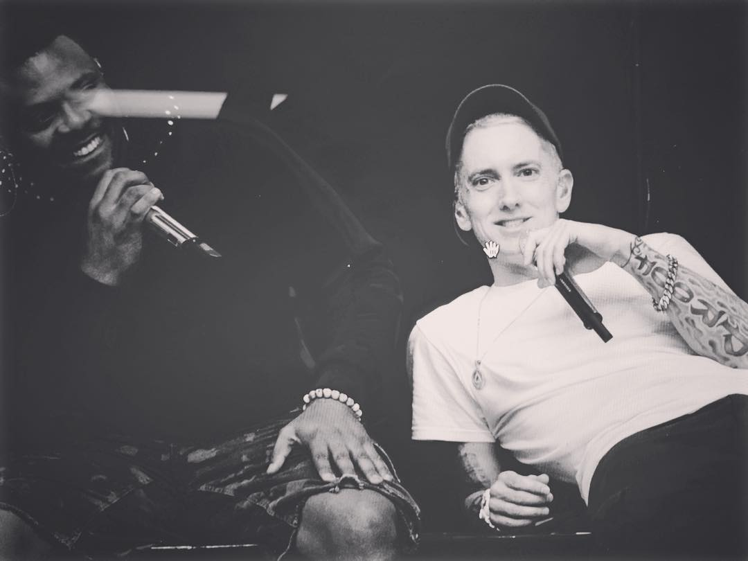 2015.09.18 - Mr. Porter and Eminem