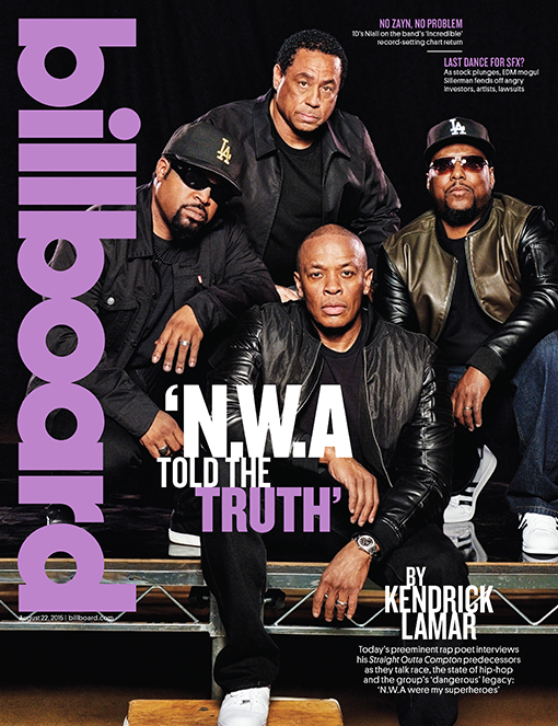 Billboard Cover N.W.A Straight Outta Compton