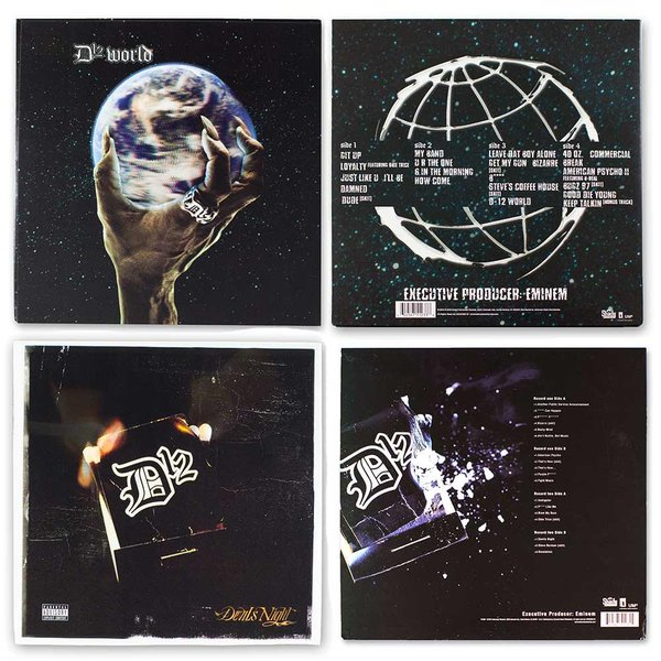 Devil's Night and D12 World coming back soon on vinyl. Get exclusive early access here