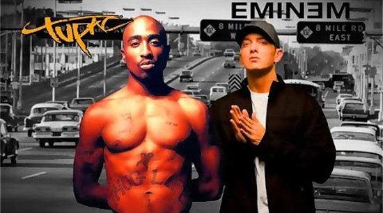 Eminem and Tupac 2Pac 2015 2