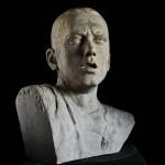 Aleksander Walijewski - Bust of Eminem. Final Effect - Gypsum Cast