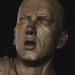 Aleksander Walijewski - Bust of Eminem. Sculpture in Clay