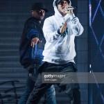 2015.11.06 - Eminem Big Sean Royce at Joe Louis Areba