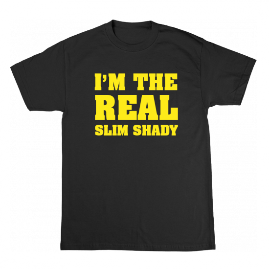 Eminem CYBER MONDAY REAL SLIM SHADY T-SHIRT
